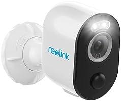 Reolink 2K 4MP Slimme Spotlicht batterij Beveiligingscamera Buiten Persoon/Voertuig Detectie, Dual-Band WiFi IP Camera,...