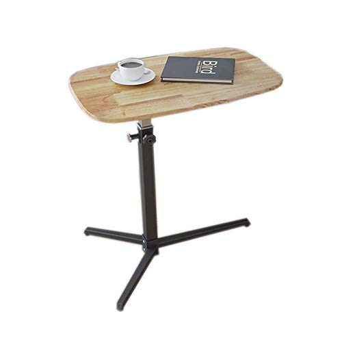 N/Z Living Equipment Nachttisch Abnehmbarer Couchtisch Flacher Laptop Bodenständer Hubtisch Schlafzimmer Sofa Seite Lazy Table