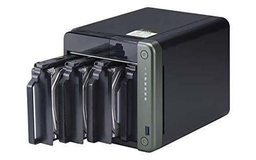QNAP TS-453D J4125 Collegamento ethernet LAN Tower Nero Nas TS-453D, Nas, Tower, Intel® Celeron®, J4125, Nero