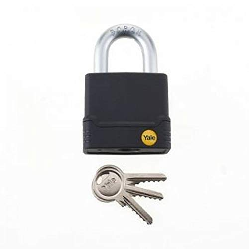 Yale Y227/45/122/1 High Security Weatherproof Anti Cut Padlock, 45mm, suitable for outdoor use