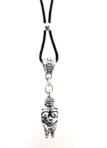 Eclectic Shop Uk Venus von Willendorf Fruchtbarkeit Göttin Anhänger Schnur Halskette Perlen Antike Symbol