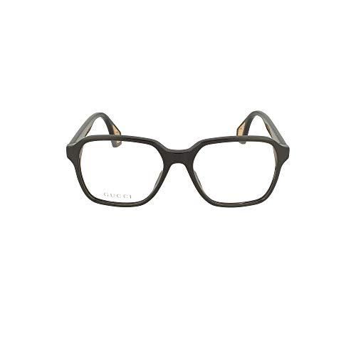 Gucci Brille (GG-0469-O 001) Acetate Kunststoff schwarz glänzend