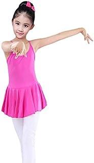 JIKASIFA-US Vestido de Baile de Ballet de niñas Gimnasia Infantil Falda de Leotardo Falda de Leotardo Etapa de niños Desga...