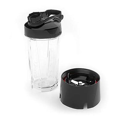 Blendtec GO (30 oz) Bottle, Reusable Single Serve Blender Cup, Includes Travel Lid, BPA-Free Jar, Clear by Blendtec