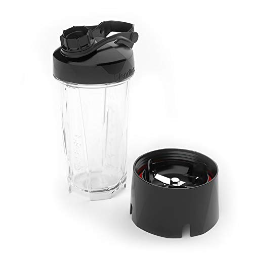 Blendtec GO (30 oz) Bottle, Reusable Single Serve Blender Cup, Includes Travel Lid, BPA-Free Jar,...