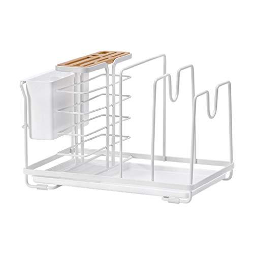 Organizador de cocina 4 en 1 para colgar en estante de cocina, estante organizador