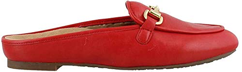 Vionic Women's Snug Adeline Mule - Ladies Slide with Concealed Orthotic Arch Support Red 8.5 M US