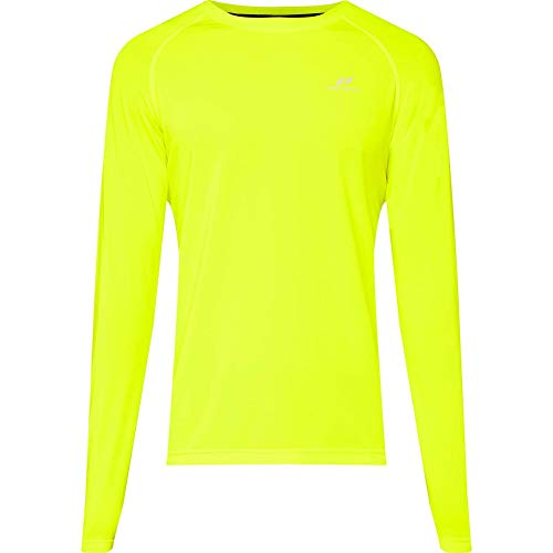 Pro Touch Manche Longues Shirt Rylungo II Homme, Yellow Light, FR : 2XL (Taille Fabricant : XXL)