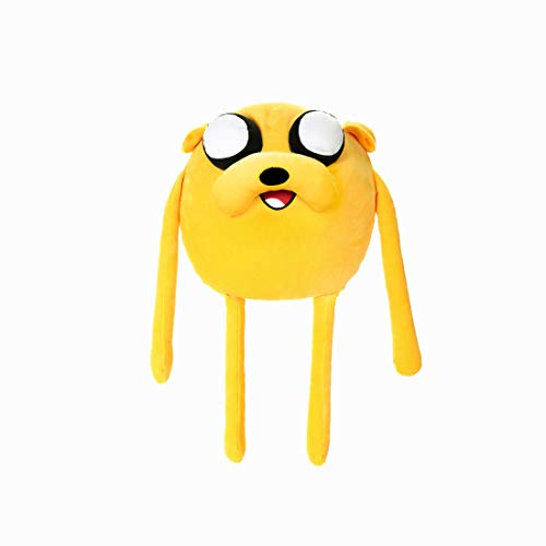 MINISO Adventure Time- Mini Plush Pillow Toy (Jake) 21.5' for Boy Girls Stuffed Doll Gift
