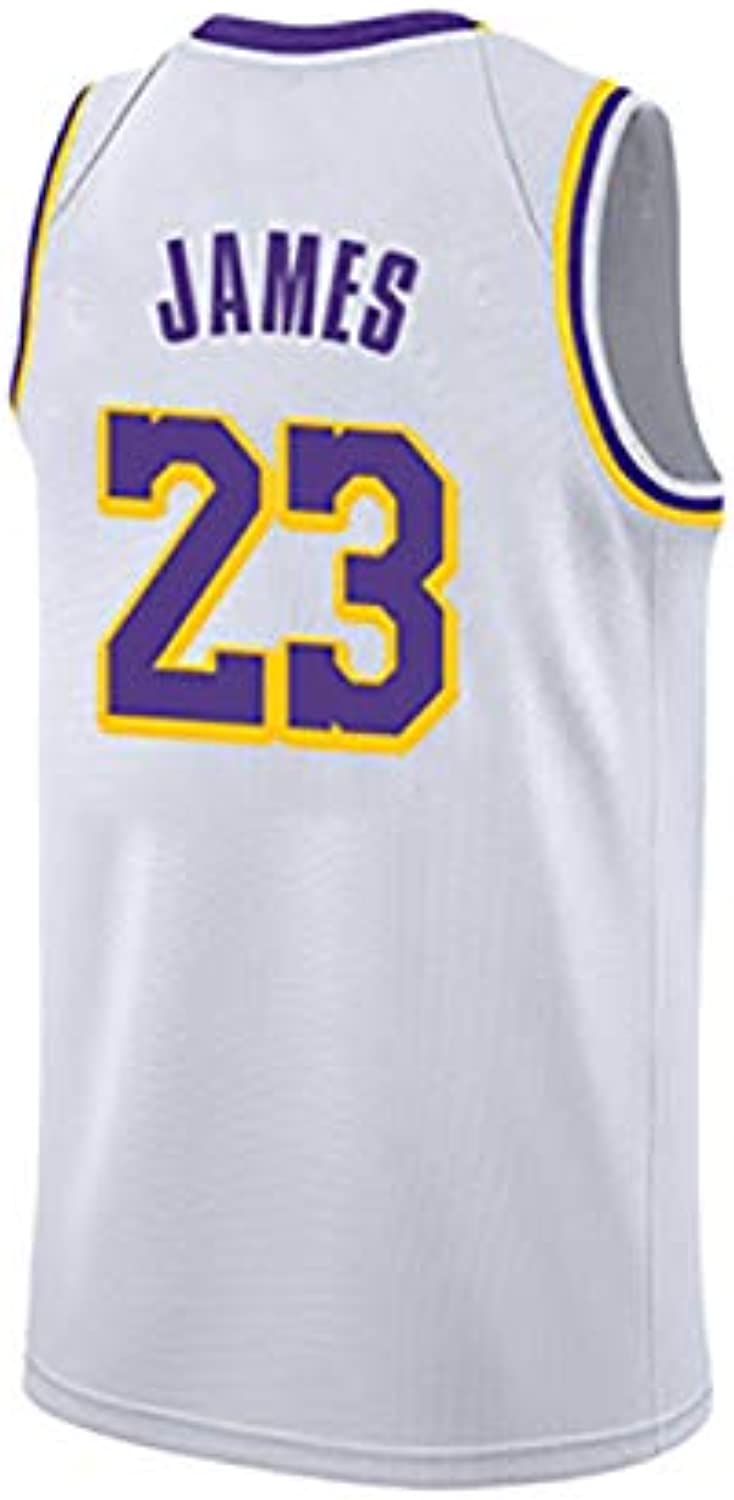 Lebron James Trikot, Los Angeles Lakers, 23, Lebron James23 , Basketballtrikot, klassisch rmellos, Unisex - Fan Collection