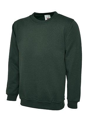 MAKZ - Sweat-shirt - Manches Longues - Homme - Vert - Large