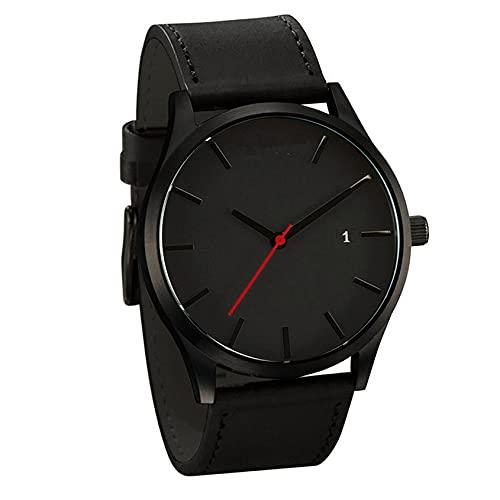 Relojes de pulsera, reloj masculino, reloj de pulsera casual elegante, calendario pequeño y exquisito esfera redonda, banda de moda, escala de rejilla de moda, calendario simple reloj casual
