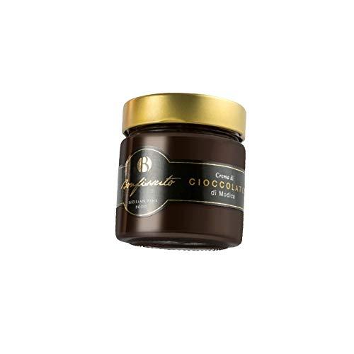Crema al Cioccolato di Modica, Produzione Artigianale, 220 g (Confezione da 6 Pezzi)