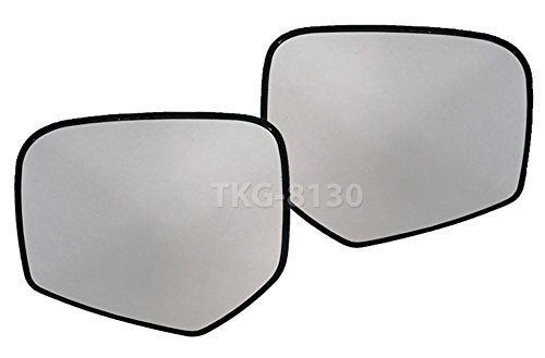 K1AutoParts 1 Pair Side Mirror Glass Lens Len For Mitsubishi Triton L200 UTE Pickup 2005-2014