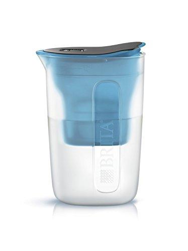 ブリタ 浄水器 ポット 浄水部容量:1.0L(全容量:1.5L)  ファン ブルー マクストラプラス カートリッジ 1個付...
