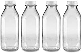 milk bottle glasses