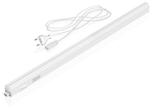Century Speedy Mini Plafoniera con Tubo, 600 mm LED, 8 W, 4000 K, 680 Lm, Bianco