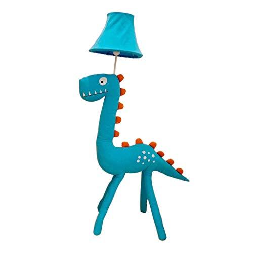 Kinderzimmer Dinosaurier Stehleuchte Junge Schlafzimmer Dekoration Nette Nachttischlampe Kreative dimmbare LED Tischlampe Kindergartenstoff stehend Modernes Licht
