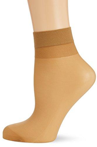 Hudson Damen Matt Fein Socken Simply 20 3er - Pack, Gr. 35/38, Beige (Make-up 0019)