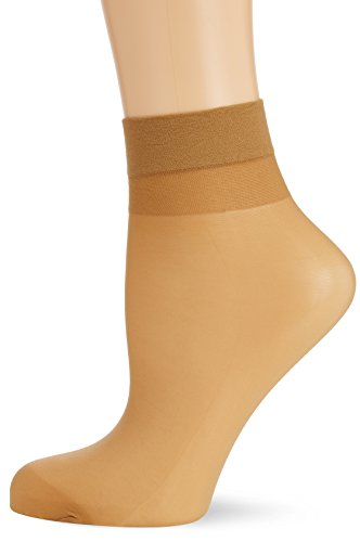 Hudson Damen Matt Fein Socken Simply 20 3er - Pack, Gr. 39/42, Beige (Make-up 0019)