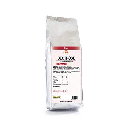 DEXTROSE - Alimento a base di glucosio in polvere, Busta da 2 Kg