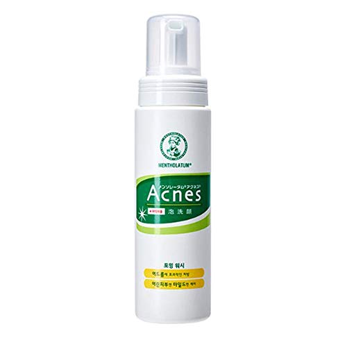 [Acnes]Foaming Wash - Acne Break Face Cleanser, Balance Oil Control Foaming Cleansing with Palmitic Acid for Oily and Sensitive Skin Korean Skincare #Dab1158