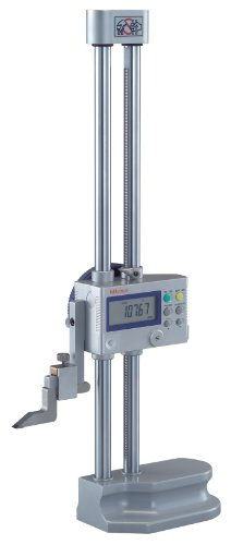 Mitutoyo 192-613-10 LCD Digimatic Height Gauge, 0-300mm Range, 0.01mm-0.005mm Resolution, -0.02mm Accuracy, 4.7kg Mass