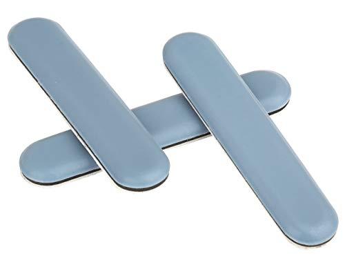 Premium-Möbelgleiter │ 16 Stück │ rechteckig │ 75 x 15 mm │ selbstklebend │ Bodenschützer │ PTFE-Gleiter │ Teflongleiter │ by FD-Workstuff