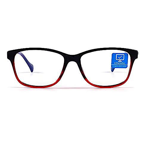 [$8.49 - 11.04] Blue Light Blocking Computer Glasses Anti Eyestrain Unisex(Men/Women)