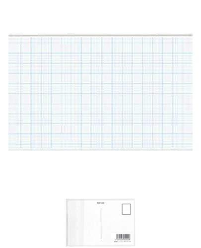 コクヨ ナフ-20 名刺型名札業務用 56×91mm おまとめセット【3個】 + 画材屋ドットコム ポストカードA