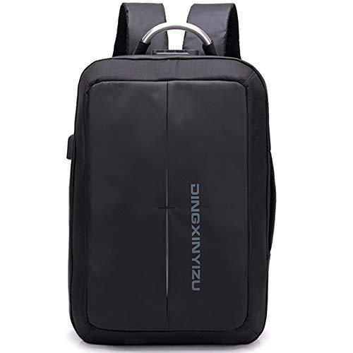 Mochila paraordenadorportátil,puerto de carga USB,mochila de viaje de negocios,puerto de carga,para hombres,mujeres,niños,niñas,resistente al agua antirrobo