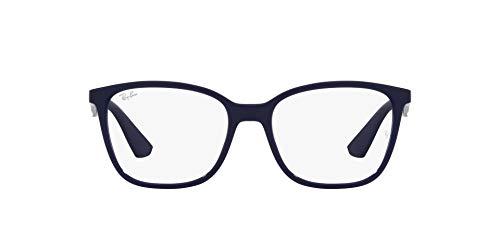 Ray-Ban 0RX7066 Gafas, BLUE, 52 Unisex Adulto