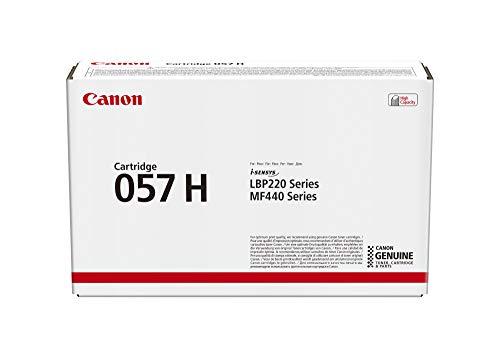 Canon Toner Cartridge 057H - schwarz - hohe Reichweite