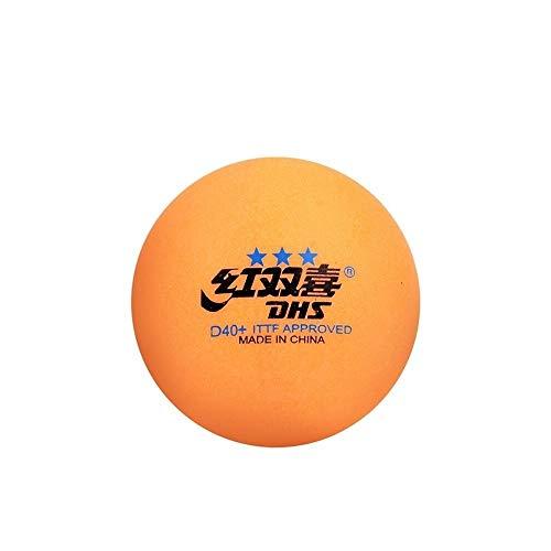 KMDSM Ping-Pong, Top D40 + Nuevos Materiales, Al Aire Libre, Mesa De Ping Pong Al Aire Libre, A Prueba De Viento, Resistente Al Sol, 10 / Caja, Blanca