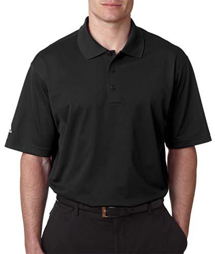Adidas Golf A130 pour homme Climalite piqué St-sleeve Polo - Noir - Medium