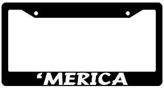 Racing angel Black License Plate Frame Decoration - Metal License Plate Frame