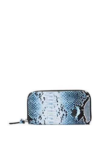 s.Oliver Donna 39.912.93.4882 - Portafoglio blu (Blue Aop)