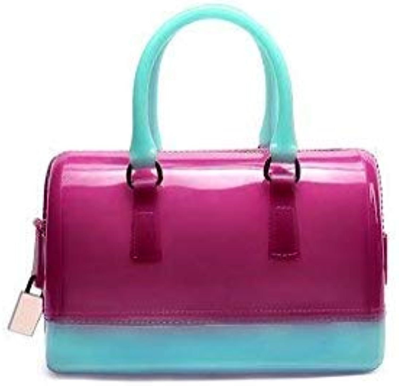 Bloomerang Handbag Women Bag Clear Jelly Transparent PVC Bag Candy color Tote Bag Designer Purse Bolsa Crossbody Bag 100 color 13