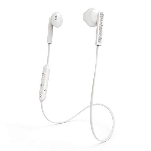 Auriculares magnéticos con Bluetooth Urbanista Berlin [Libertad SIN Cables], hasta 4 Horas de reproducción, Gestión de Llamadas con micrófono - Fluffy Cloud