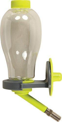 Zolux Trinkflasche für Nagetiere, von Oben befüllbar, 500ml, Anisgrün