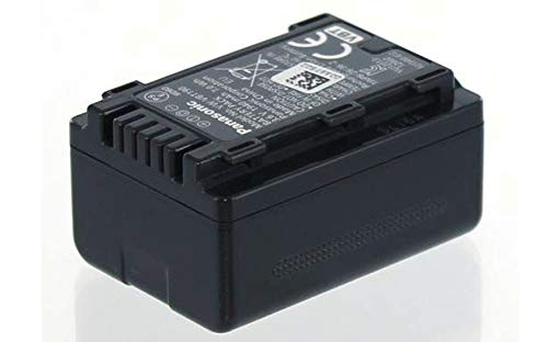 Panasonic Original Akku für Panasonic VW-VBT190, Camcorder/Digitalkamera Li-Ion Batterie