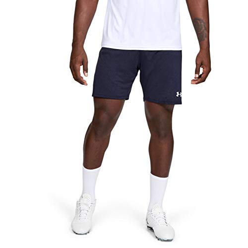 Under Armour Men's Microthread Match 7-Inch Shorts , Midnight Navy (410)/White , Large