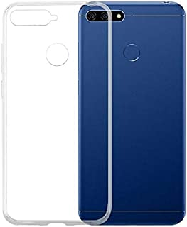 Huawei Y6 (2018) TPU Silicone Clear Case Back Cover For Huawei Y6 2018 By Muzz