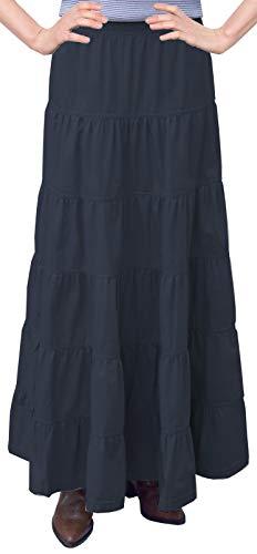 Top denim long skirts for women ankle length for 2020