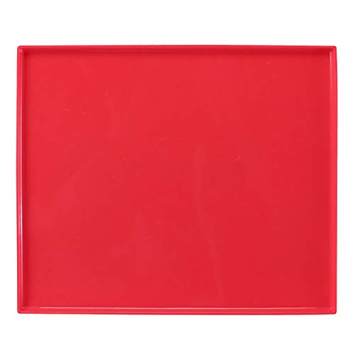 BESTONZON Swiss Roll Backblech Silikon Backmatte Rollmatte Biskuitrollenmatte (Rot)