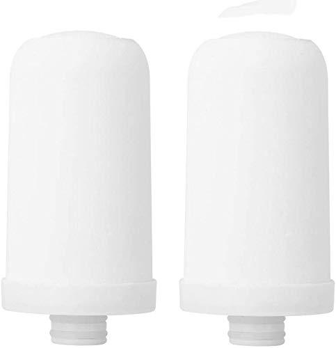 Ymiko 2PCS Wasserhahn Wasserreiniger Keramikfilter Kernpatrone Ersatz Wassersystem Filter, Keramikfilter Ersatz