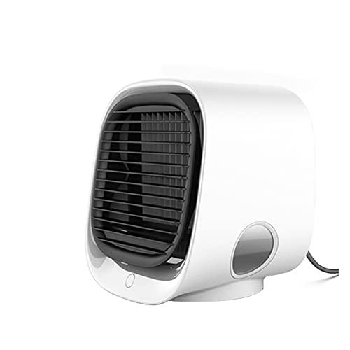 LXF JIAJU Mini Acondicionador De Aire Portátil Multifunción Humidificador Purificador USB Desktop Air Cooler Fan con Tanque De Agua Inicio (Color : 1)