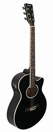 Hertz HZA-7000 Acoustic Guitar- Black