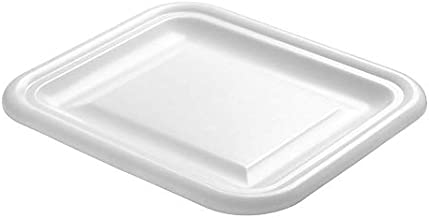 Rubbermaid Commercial Products Food Storage Box Lid for 2.75 Gallon Size Container, White (FG361600WHT)