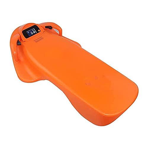 WBJLG Tabla de Surf eléctrica para Adultos, Scooter subacuático con batería de 12Ah 3200W 36V, Velocidad de rotación de 4 Niveles para Nadar, Surfear y bucear a Poca Profundidad